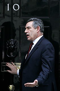 Brown at No 10